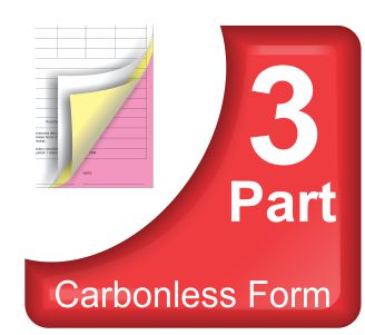 custom 2 part carbonless forms, duplicate invoices printing, Invoice templates