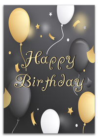 Custom Happy Birthday Cards Printing