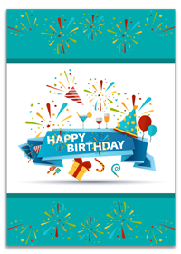 Custom Happy Birthay Cards Printing Services