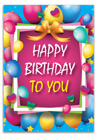 Personalized Happy Birthday Cards Designing & Printing