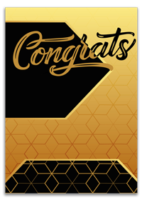 Personalized Congratulation Card Designing & Printing