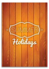 Personalized Summer Holidays Cards Printing