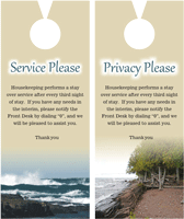 privacy please door hangers printing
