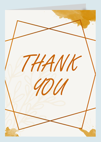 Personalized Thank You Cards Designing & Printing