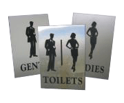 Standoff Signs - Office Signs