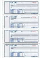 Carbonless Cash Receipt Book Printing