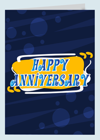Business Anniversary Cards Printing