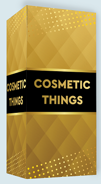 Hot Foil Stamping on Cosmetic Boxes