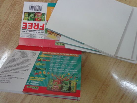 Tear Off Coupon Booklets Printing