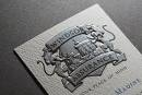 Embossed Foil Stamped Business Cards Printing