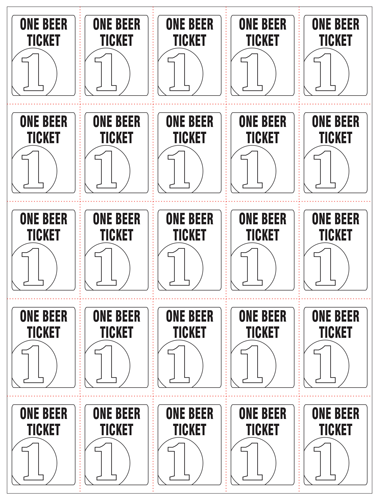 custom perforated tickets sheets printing