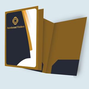 Custom Printed Reinforced Folders